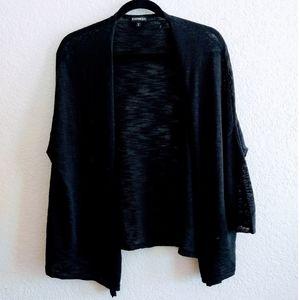 Express Black Knit Cardigan Size XSmall